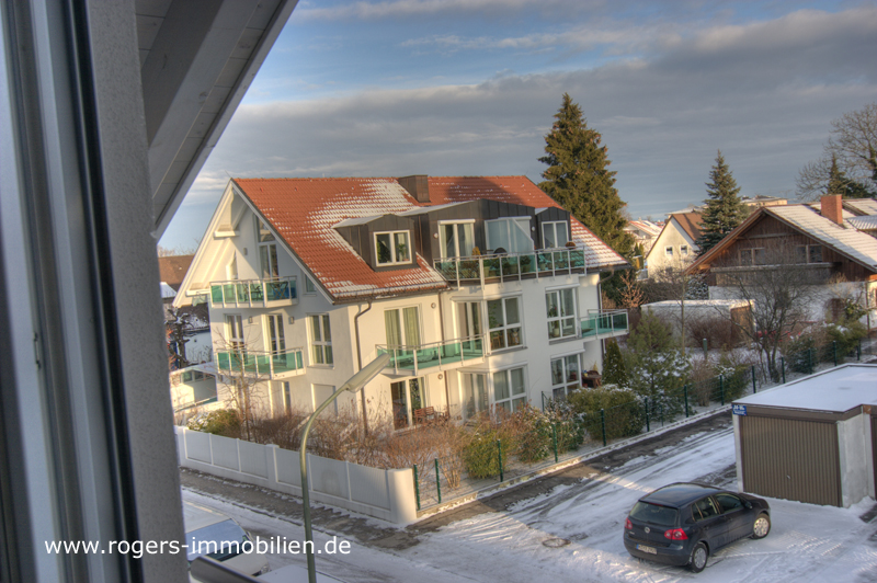 Blick vom Dachstudio